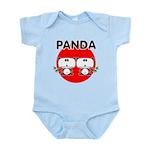 Panda 2 Infant Bodysuit