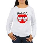 Panda 2 Women's Long Sleeve T-Shirt