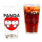 Panda 2 Drinking Glass