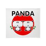 Panda 2 Throw Blanket