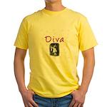 Diva Yellow T-Shirt
