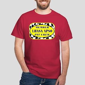 Lhasa Apso PIT CREW Dark T-Shirt