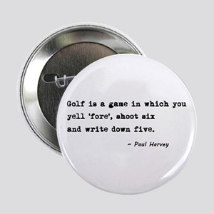 "'Golf Quote' 2.25"" Button"