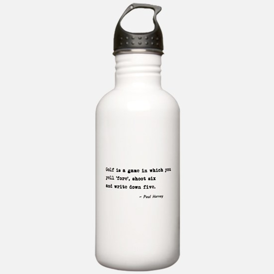 'Golf Quote' Water Bottle