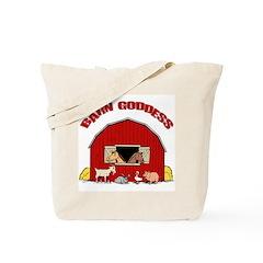 Barn Goddess Tote Bag