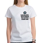 Time Women's Classic White T-Shirt