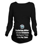 Time Long Sleeve Maternity T-Shirt