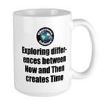 Time 15 oz Ceramic Large Mug