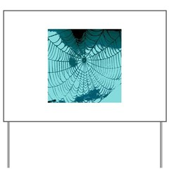 Spider Webs Yard Sign