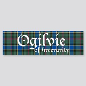 Tartan - Ogilvie of Inverarity Sticker (Bumper)