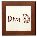 Diva Framed Tile