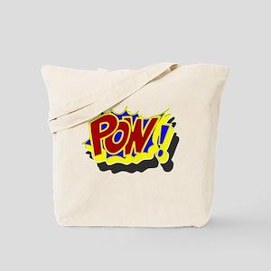 POW! Comic Book Style Tote Bag