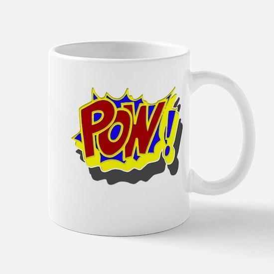 POW! Comic Book Style Mug
