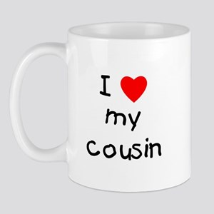 I love my cousin Mug