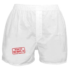 MADE IN THE BRONX, NY Boxer Shorts