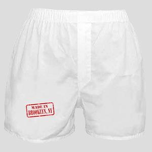 MADE IN BROOKLYN, NY Boxer Shorts