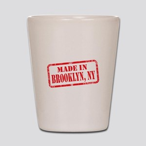 MADE IN BROOKLYN, NY Shot Glass