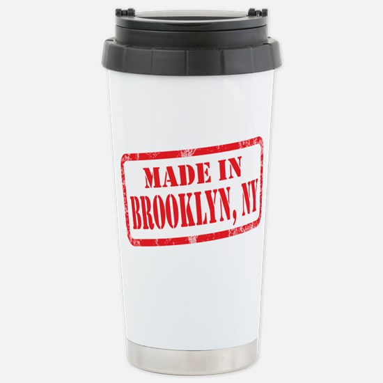 MADE IN BROOKLYN, NY Stainless Steel Travel Mug