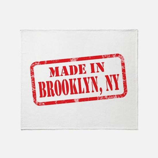 MADE IN BROOKLYN, NY Throw Blanket