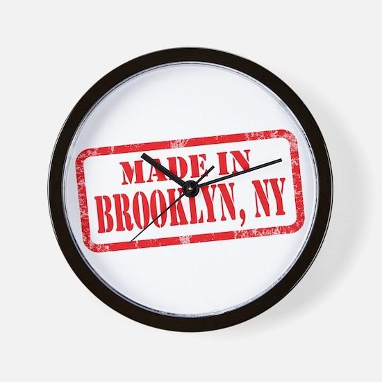 MADE IN BROOKLYN, NY Wall Clock