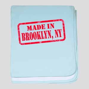 MADE IN BROOKLYN, NY baby blanket
