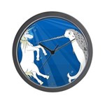 Unicorn Meets Narwhal Wall Clock