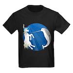 Unicorn Meets Narwhal Kids Dark T-Shirt