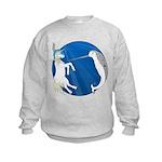 Unicorn Meets Narwhal Kids Sweatshirt