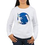Unicorn Meets Narwhal Women's Long Sleeve T-Shirt