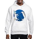 Unicorn Meets Narwhal Hooded Sweatshirt