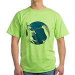Unicorn Meets Narwhal Green T-Shirt