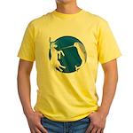 Unicorn Meets Narwhal Yellow T-Shirt