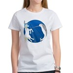 Unicorn Meets Narwhal Women's T-Shirt