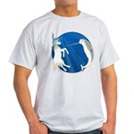Unicorn Meets Narwhal Light T-Shirt