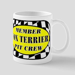 Fox Terrier PIT CREW Mug