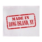 MADE IN LONG ISLAND, NY Throw Blanket