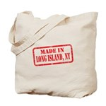 MADE IN LONG ISLAND, NY Tote Bag