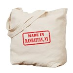 MADE IN MANHATTAN, NY Tote Bag