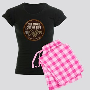 Get More Out of Life With Coffee Women's Dark Paja
