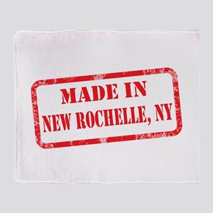 MADE IN NEW ROCHELLE, NY Throw Blanket