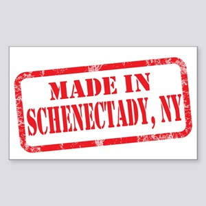 MADE IN SCHENECTADY, NY Sticker (Rectangle)