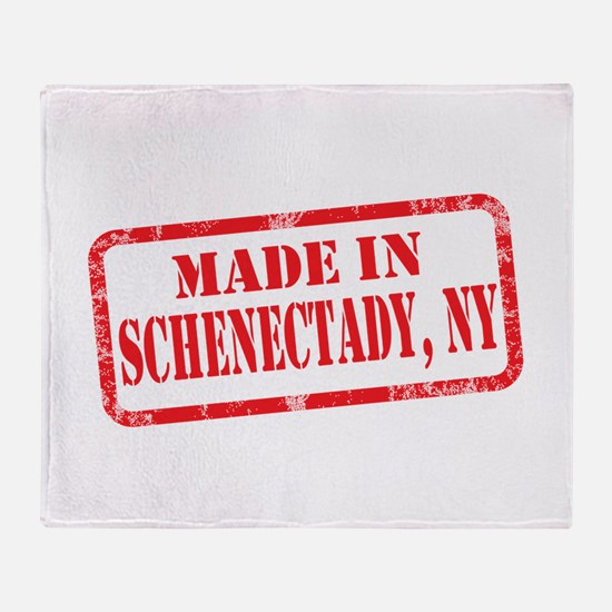 MADE IN SCHENECTADY, NY Throw Blanket