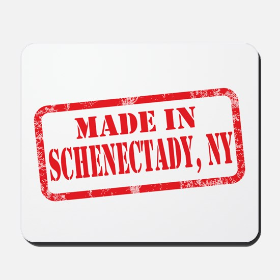 MADE IN SCHENECTADY, NY Mousepad