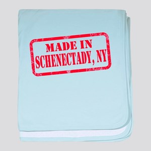 MADE IN SCHENECTADY, NY baby blanket