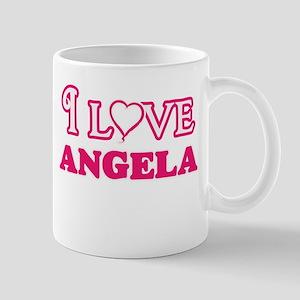 I Love Angela Mugs