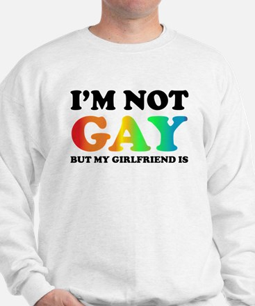 I'm not gay but my girlfriend is Jumper