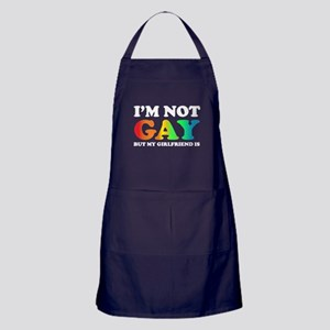 I'm not gay but my girlfriend is Apron (dark)