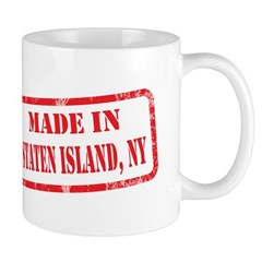 MADE IN STATEN ISLAND, NY Mug