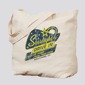 Starlight Drive In Tote Bag