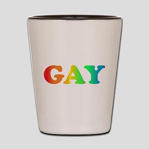 GAY Shot Glass